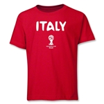 Italy 2014 FIFA World Cup Brazil(TM) Youth Core T-Shirt (Red)