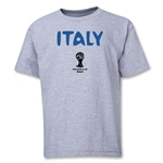 Italy 2014 FIFA World Cup Brazil(TM) Youth Core T-Shirt (Grey)