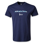Argentina 2014 FIFA World Cup Brazil(TM) Youth Palm T-Shirt (Navy)