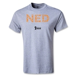 Netherlands 2014 FIFA World Cup Brazil(TM) Youth Elements T-Shirt (Grey)