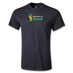 2014 FIFA World Cup Brazil(TM) Youth Landscape Emblem T-Shirt (Black)