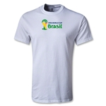 2014 FIFA World Cup Brazil(TM) Youth Landscape Emblem T-Shirt (White)