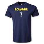 Ecuador 2014 FIFA World Cup Brazil(TM) Youth Core T-Shirt (Navy)
