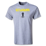 Ecuador 2014 FIFA World Cup Brazil(TM) Youth Core T-Shirt (Grey)