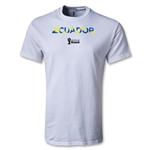 Ecuador 2014 FIFA World Cup Brazil(TM) Youth Palm T-Shirt (White)