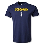 Colombia 2014 FIFA World Cup Brazil(TM) Youth Core T-Shirt (Navy)