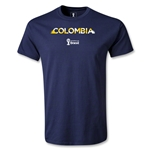 Colombia 2014 FIFA World Cup Brazil(TM) Youth Palm T-Shirt (Navy)