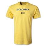 Colombia 2014 FIFA World Cup Brazil(TM) Youth Palm T-Shirt (Yellow)