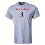 South Korea 2014 FIFA World Cup Brazil(TM) Youth Core T-Shirt (Gray)