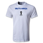 South Korea 2014 FIFA World Cup Brazil(TM) Youth Core T-Shirt (White)