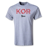 South Korea 2014 FIFA World Cup Brazil(TM) Youth Elements T-Shirt (Gray)