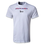 South Korea 2014 FIFA World Cup Brazil(TM) Youth Palm T-Shirt (White)