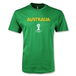 Australia 2014 FIFA World Cup Brazil(TM) Youth Core T-Shirt (Green)