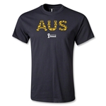 Australia 2014 FIFA World Cup Brazil(TM) Youth Elements T-Shirt (Black)