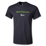 Australia 2014 FIFA World Cup Brazil(TM) Youth Palm T-Shirt (Black)