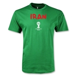 Iran 2014 FIFA World Cup Brazil(TM) Youth Core T-Shirt (Green)