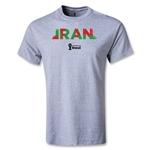 Iran 2014 FIFA World Cup Brazil(TM) Youth Palm T-Shirt (Gray)