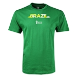 Brazil 2014 FIFA World Cup Brazil(TM) Youth T-Shirt (Green)