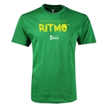 2014 FIFA World Cup Brazil(TM) Youth Portugese All In One Rhythm T-Shirt (Green)