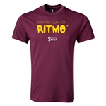 2014 FIFA World Cup Brazil(TM) Youth Portugese All In One Rhythm T-Shirt (Maroon)