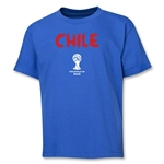 Chile 2014 FIFA World Cup Brazil(TM) Youth Core T-Shirt (Royal)