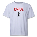 Chile 2014 FIFA World Cup Brazil(TM) Youth Core T-Shirt (White)