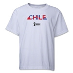 Chile 2014 FIFA World Cup Brazil(TM) Youth Palm T-Shirt (White)