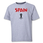 Spain 2014 FIFA World Cup Brazil(TM) Youth Core T-Shirt (Grey)
