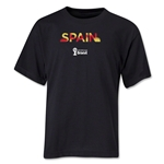 Spain 2014 FIFA World Cup Brazil(TM) Youth Palm T-Shirt (Black)
