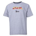 Spain 2014 FIFA World Cup Brazil(TM) Youth Palm T-Shirt (Grey)