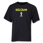 Belgium 2014 FIFA World Cup Brazil(TM) Youth Core T-Shirt (Black)
