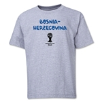 Bosnia-Herzegovina 2014 FIFA World Cup Brazil(TM) Youth Core T-Shirt (Grey)