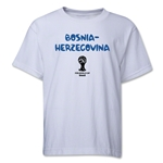 Bosnia-Herzegovina 2014 FIFA World Cup Brazil(TM) Youth Core T-Shirt (White)