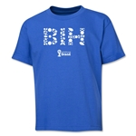 Bosnia-Herzegovina 2014 FIFA World Cup Brazil(TM) Youth Elements T-Shirt (Royal)