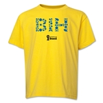 Bosnia-Herzegovina 2014 FIFA World Cup Brazil(TM) Youth Elements T-Shirt (Yellow)