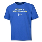 Bosnia-Herzegovina 2014 FIFA World Cup Brazil(TM) Youth Palm T-Shirt (Royal)