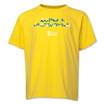 Bosnia-Herzegovina 2014 FIFA World Cup Brazil(TM) Youth Palm T-Shirt (Yellow)