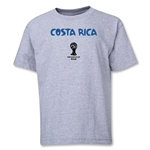 Costa Rica 2014 FIFA World Cup Brazil(TM) Youth Core T-Shirt (Grey)
