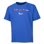 Costa Rica 2014 FIFA World Cup Brazil(TM) Youth Palm T-Shirt (Royal)