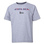 Costa Rica 2014 FIFA World Cup Brazil(TM) Youth Palm T-Shirt (Grey)