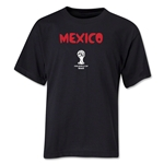 Mexico 2014 FIFA World Cup Brazil(TM) Youth Core T-Shirt (Black)