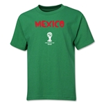 Mexico 2014 FIFA World Cup Brazil(TM) Youth Core T-Shirt (Green)