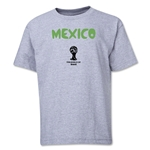 Mexico 2014 FIFA World Cup Brazil(TM) Youth Core T-Shirt (Gray)