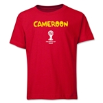 Cameroon 2014 FIFA World Cup Brazil(TM) Youth Core T-Shirt (Red)