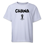 Ghana 2014 FIFA World Cup Brazil(TM) Youth Core T-Shirt (White)