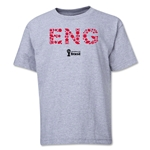 England 2014 FIFA World Cup Brazil(TM) Youth Elements T-Shirt (Grey)