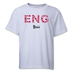 England 2014 FIFA World Cup Brazil(TM) Youth Elements T-Shirt (White)