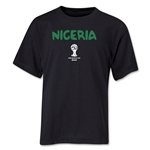 Nigeria 2014 FIFA World Cup Brazil(TM) Youth Core T-Shirt (Black)