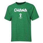 Ghana 2014 FIFA World Cup Brazil(TM) Youth Core T-Shirt (Green)