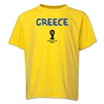 Greece 2014 FIFA World Cup Brazil(TM) Youth Core T-Shirt (Yellow)